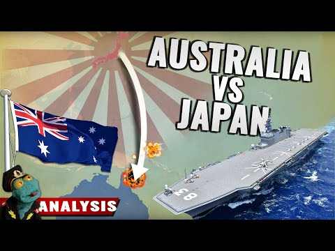Could Japan's military conquer Australia? (2021)
