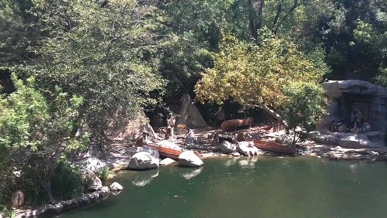Disneyland's Native American Village - YouTube