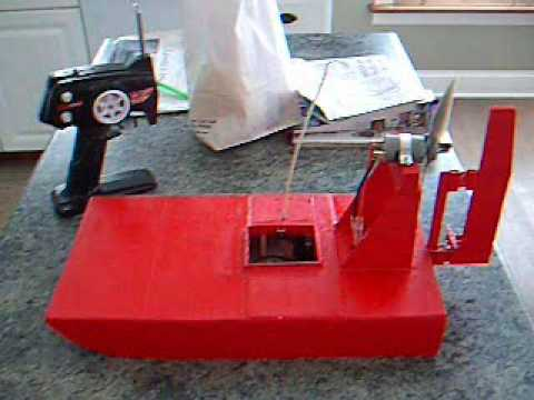 RC Airboat Air Boat Scratch Built Project - YouTube