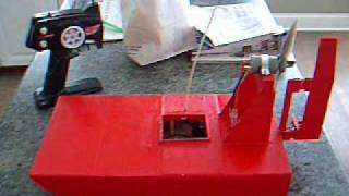 Rc Airboat Air Boat Scratch Built Project