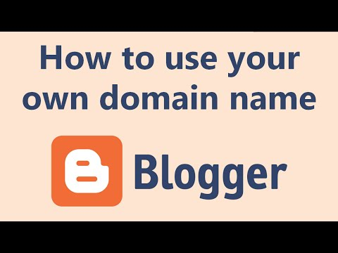 How to use a custom domain on your Blogger.com blog (2015)