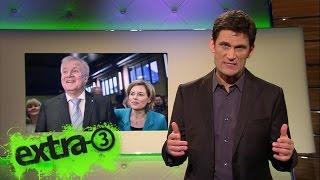 Christian Ehring verteilt die Groko-Oscars