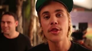 Justin Bieber on set of No Brainer music video with DJ Khaled & Scooter Braun - June 19, 2018