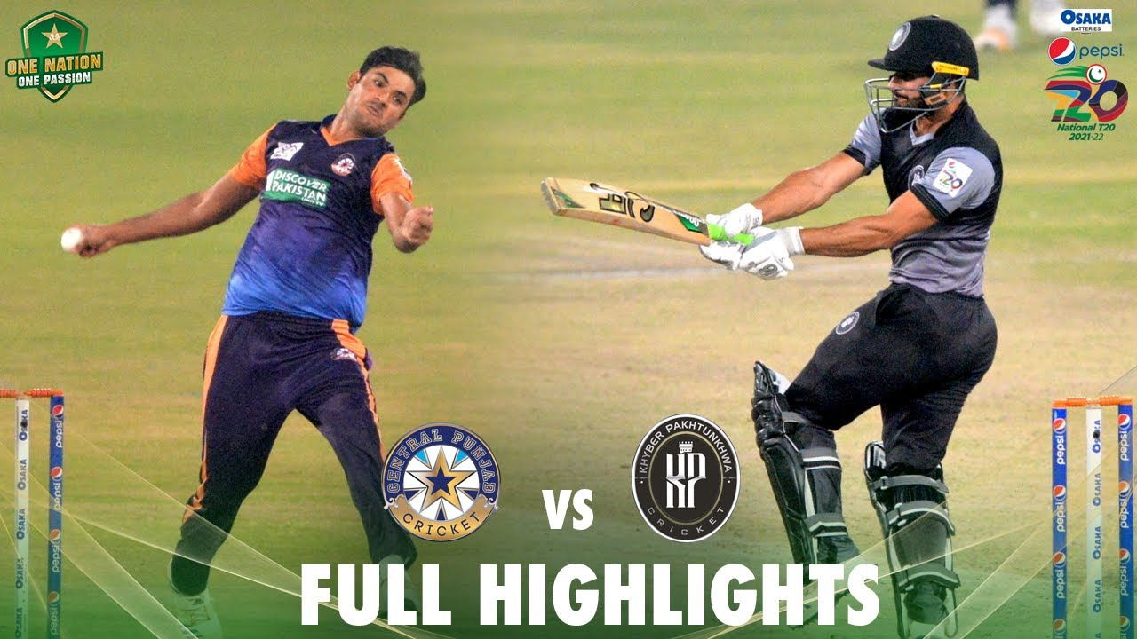 Download Full Highlights   Khyber Pakhtunkhwa vs Central Punjab   Match 33   National T20 2021   PCB   MH1T