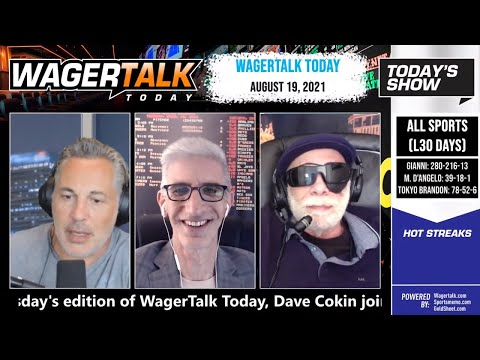 Free Sports Picks | College Football Picks | NFL Betting Tips | WagerTalk Today | August 19