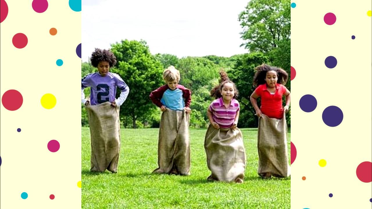 Juegos Divertidos Al Aire Libre Para Fiestas Infantiles Youtube