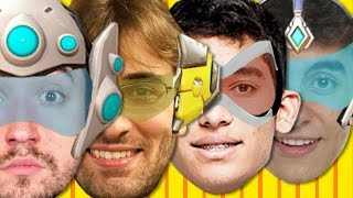 Overwatch- AULA DE BILADA - com Edu, Authentic, Leon e Baixamemoria