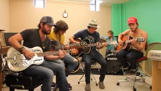 "The Wild Feathers ""The Ceiling"" Acoustic  on A-Sides"