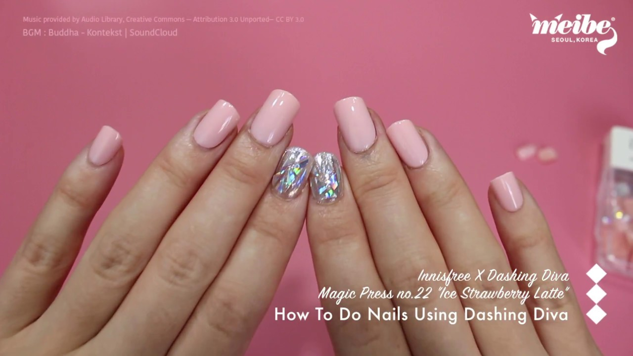 K-beauty Unboxing] How to Do Nails Using DASHING DIVA Magic Press ...