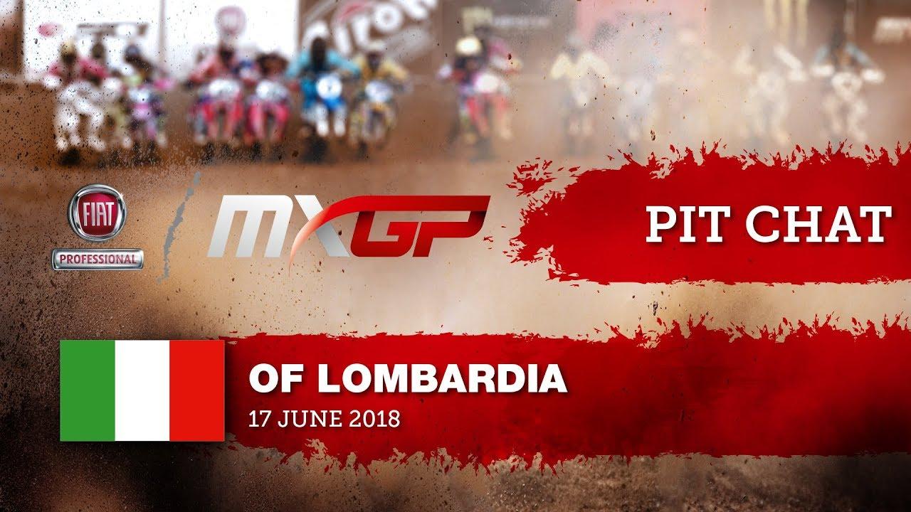 Pit Chat with Thomas Covington FIAT Professional MXGP of Lombardia Ottobiano 2018#motocross