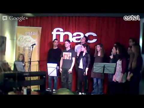 Atuação inédita dos alunos da licenciatura em artes performativas da ESTAL na FNAC