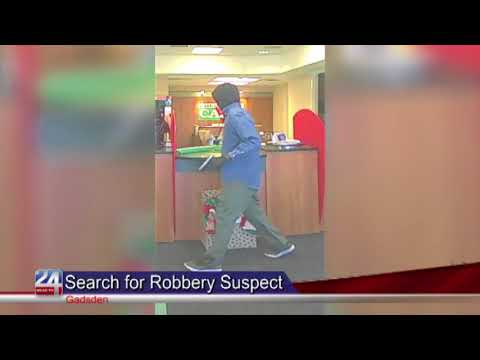 Robbery Suspect on the Loose