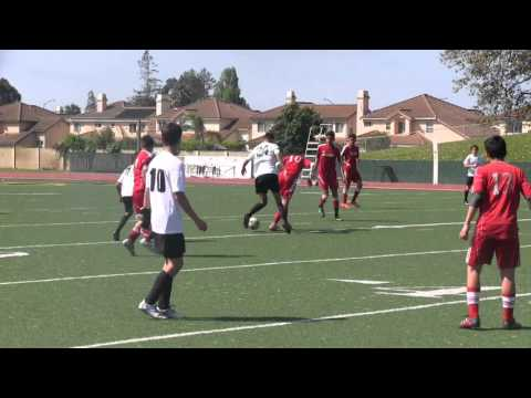 4-3-16 Boys 2001 Yellow vs Alliance FC Diablos 01  5-0 W