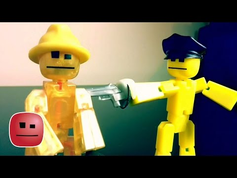"""""""Cops and Robbers!"""" - By Stikbot Films"""