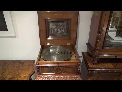 Carnival of Venice: Polyphon Antique Music Box