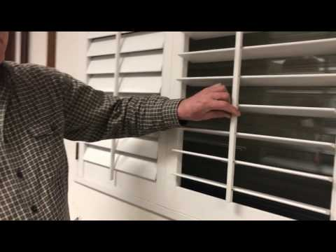How to Fix Plantation Shutters