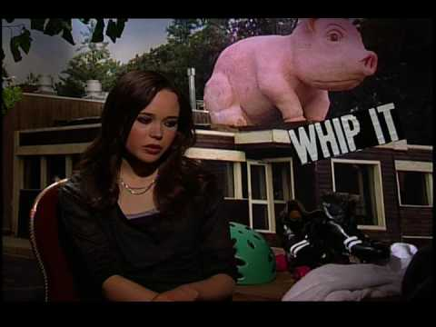 Ellen Page Interview For Whip It!