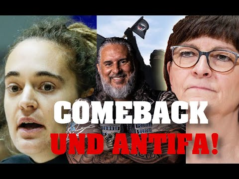 CAROLA RACKETE Comeback & ESKENS Antifa-Coming out!