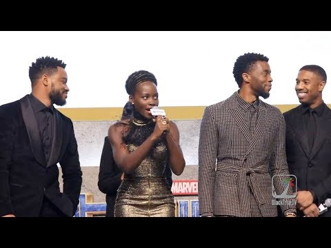 Black Panther Asian Premiere in S. Korea (Busan Panther)  감사합니다!