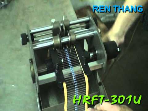 HRFT-301U , Manual Taped Axial Component Lead Bending Machine