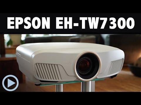 epson tw7300 4k e shift beamer bei heimkinoraum im test youtube. Black Bedroom Furniture Sets. Home Design Ideas