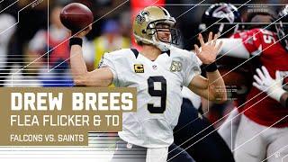 Flea Flicker Bomb Sets Up Drew Brees TD Pass to Coby Fleener | Falcons vs. Saints | NFL