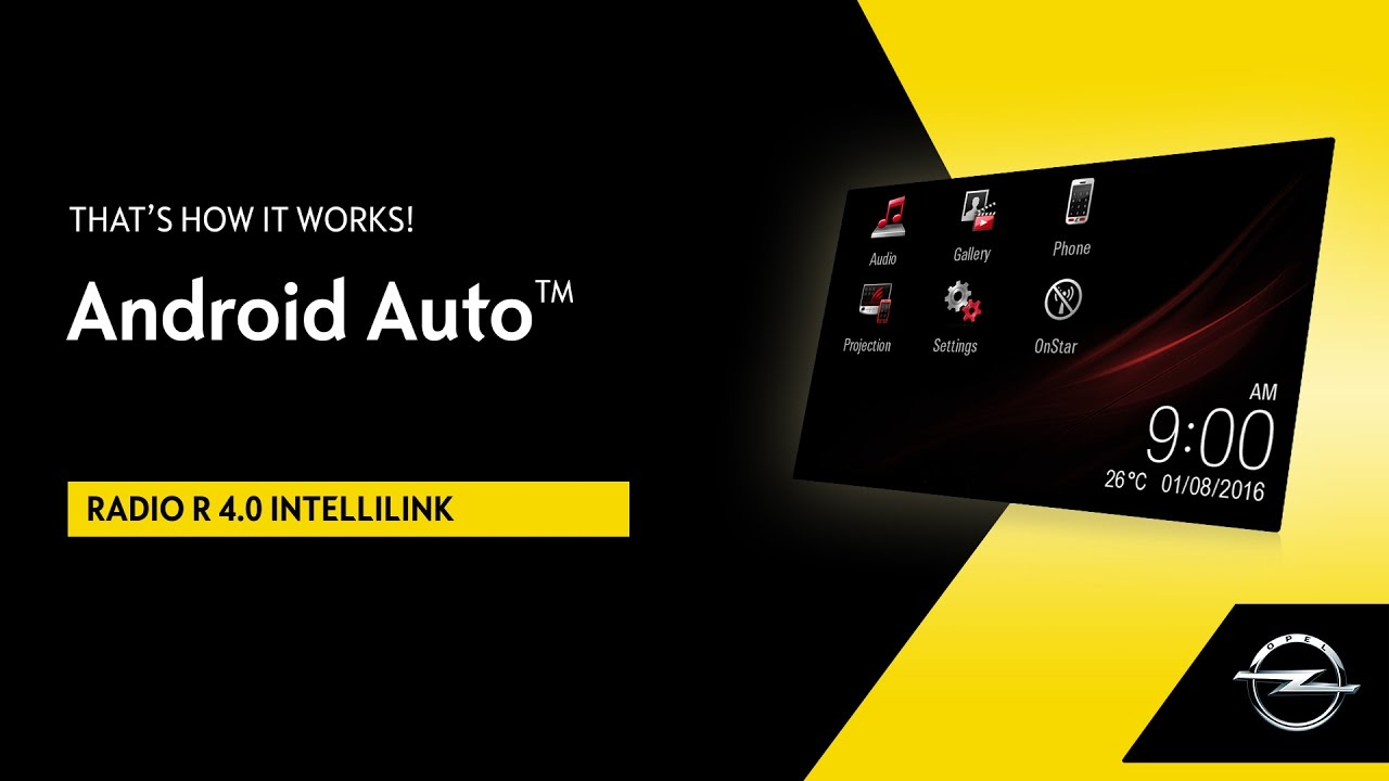 R 4.0 IntelliLink | Android Auto™ | That's How It Works!
