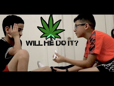 KIDS SMOKE WEED EXPERIMENT!!