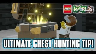 LEGO Worlds Chest Hunting Tips - Quickly Get To Any Chest!