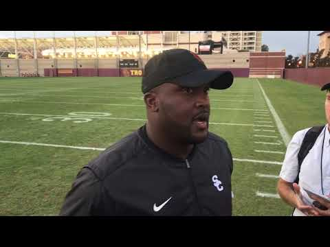 USC OC Tee Martin talks Texas and Cal prep