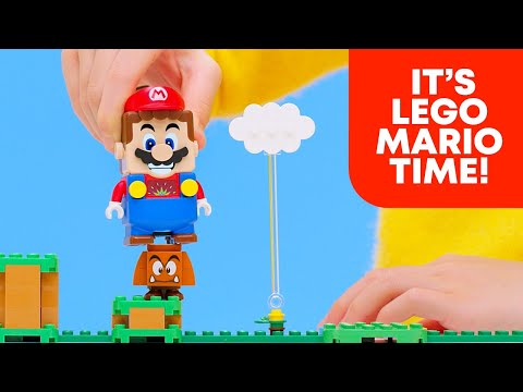 Anunciada LEGO Super Mario, una colección de juguetes interactivos