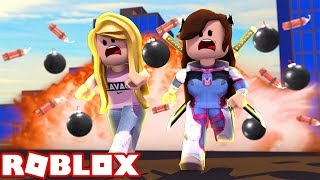 UNSERE STADT WIRD BOMBARDIERT! (Roblox) W/Leah