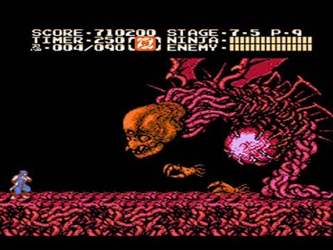 Ninja Gaiden 2 Nes The Dark Sword Of Chaos Full