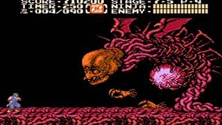 Ninja Gaiden 2 - Nes - ( The Dark Sword of Chaos ) - Full Playthrough - No Death