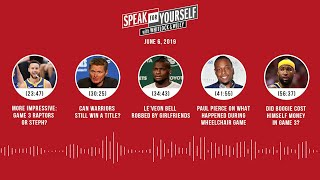 SPEAK FOR YOURSELF Audio Podcast (6.6.19) with Marcellus Wiley, Jason Whitlock | SPEAK FOR YOURSELF