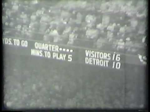 1953 NFL Championship - Lions vs. Browns - Vol. 4