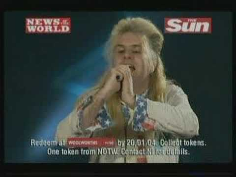 Pop Idol DVD ADVERT (9 Jan 04) free with News Of The World.