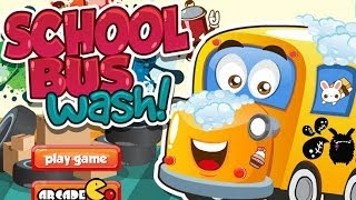 Baby Educational Game - School Bus Wash