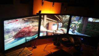 Dead Island triple screen TripleHead2Go