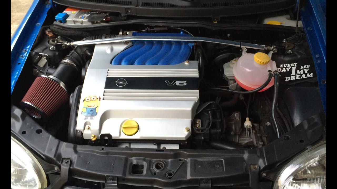 Corsa C Swap >> Opel Corsa B 2,5 V6 conversion - YouTube