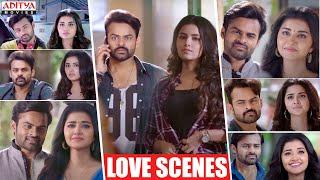 Sai Dharam Tej Anupama Love Scenes | Hindi Dubbed Movies