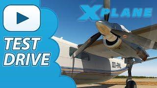 Test Drive | Carenado 690B TURBO COMMANDER | Xplane 11