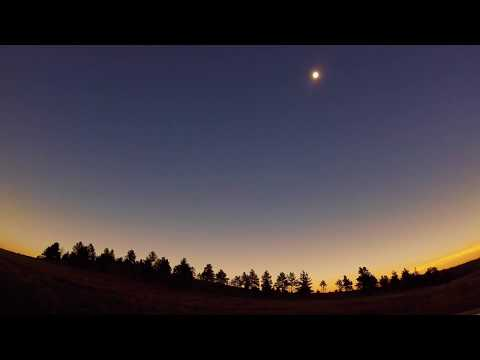 The Eclipse from Guernsey State Park, WY