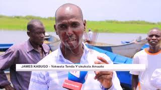 OKULWANYISA ENVUBA EMBI: Amagye gazzeemu ebikwekweto ku nnyanja Kyoga
