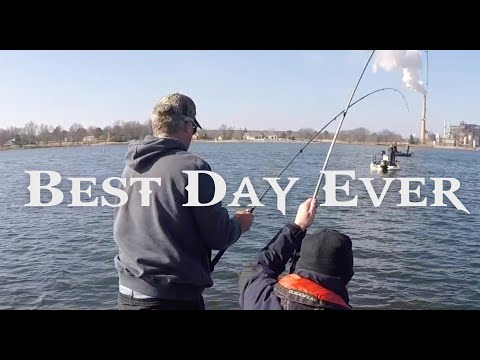 Best day ever crappie fishing youtube for Good fishing days