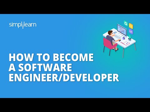 How To Become A Software Engineer/Developer | Guide To Becoming A Software Developer | Simplilearn