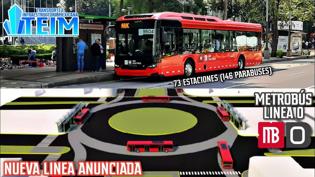 Metrobus línea 8-Circuito Interior|Así será la nueva línea!