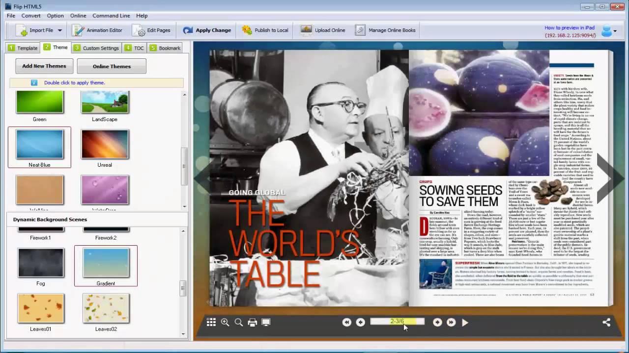 fliphtml5 multi functional online brochure creator youtube