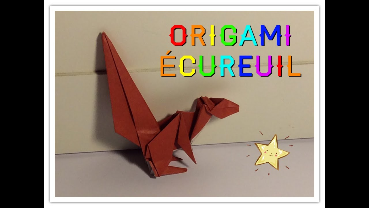 Origami cureuil squirrel tomoko fuse youtube origami cureuil squirrel tomoko fuse jeuxipadfo Choice Image