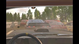 Wreckfest Gameplay in 4K 60FPS Maxed settings GTX 1080 Ti